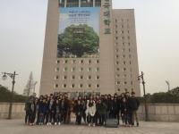 香港中文大學校友會聯會陳震夏中學集體照