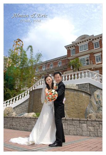 香港大學婚紗照