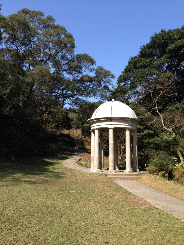 山頂花園仿維多利亞式涼亭