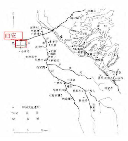 陝西西安城市的歷史變遷