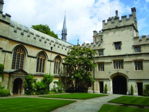 Tower & Chapel - Jesus College