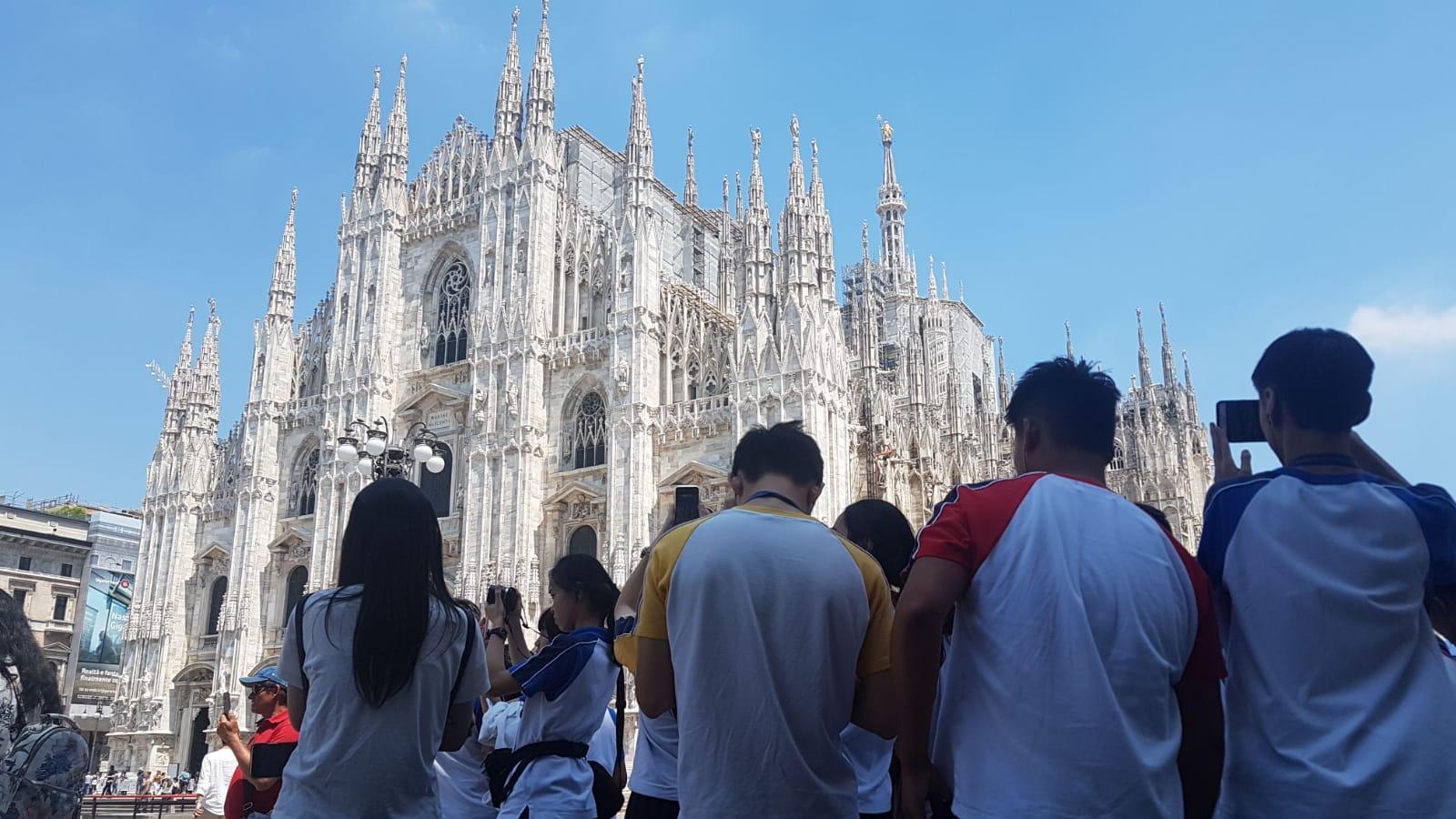 遊學意大利:米蘭大教堂