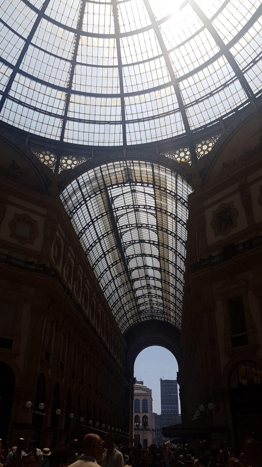 遊學意大利:艾曼紐二世拱廊