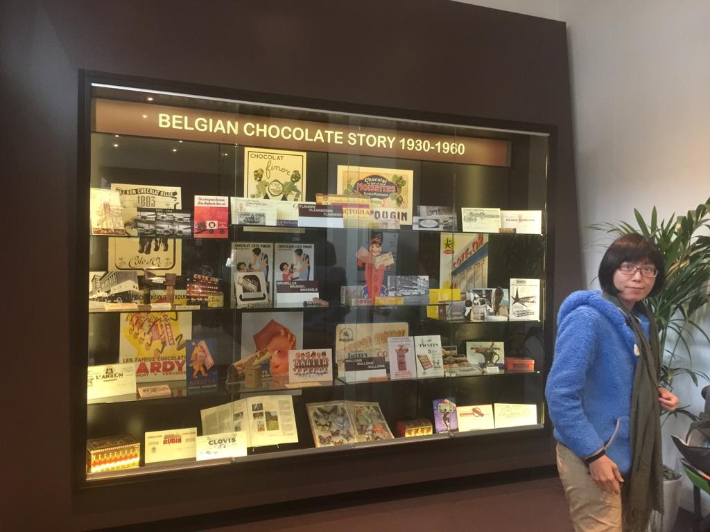 遊學比利時:參觀朱古力博物館